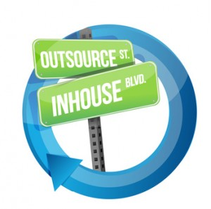inhouse oder outsourcing