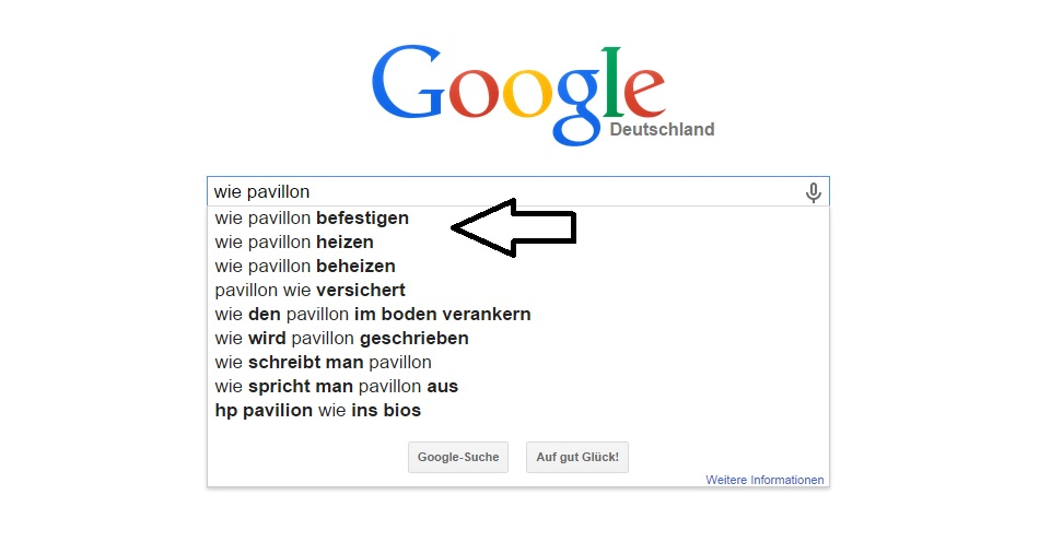 Google Suggest Strategie